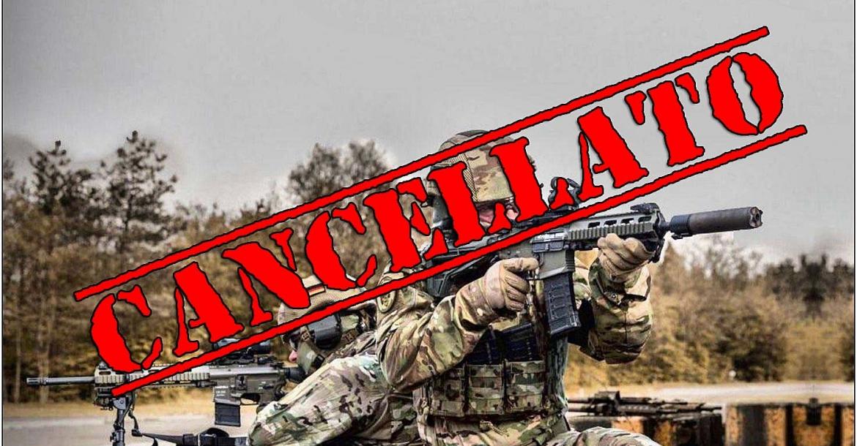 Haenel MK 556: cancellato il contratto per il nuovo fucile della Bundeswehr!