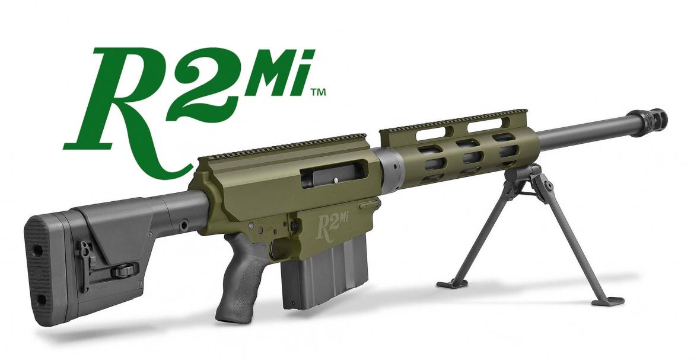 Remington R2Mi .50 caliber rifle: the Big Green goes full Extended Long Range!