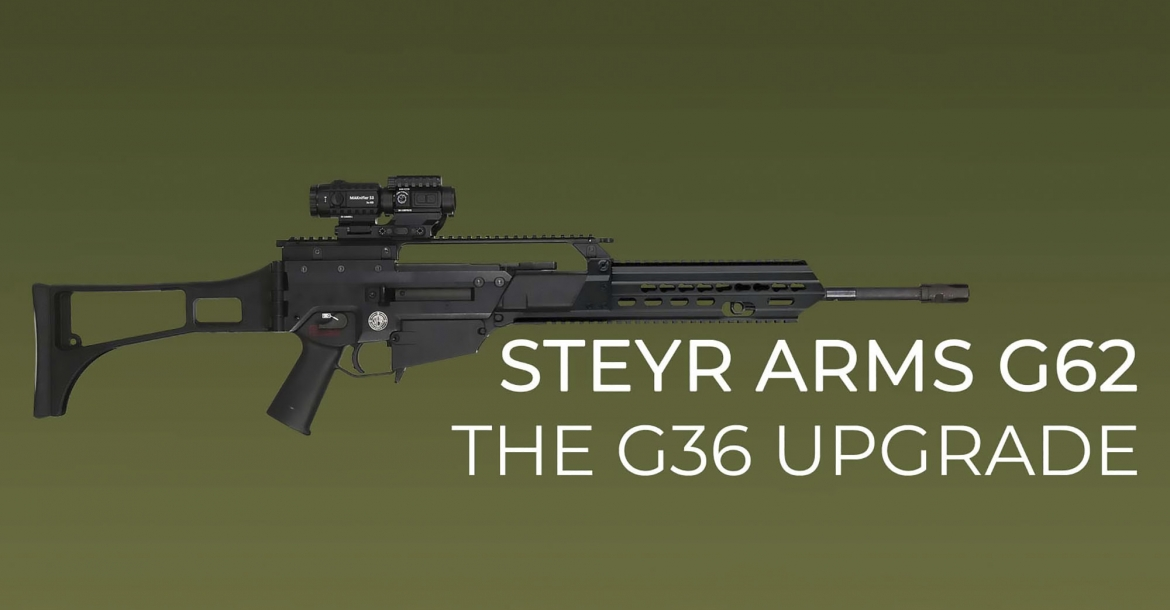 Steyr Arms G62 Upgrade Kit: finally a fix for the G36 assault rifle?