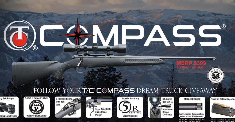 Thompson/Center Arms™ introduces T/C® Compass™ bolt-action rifle