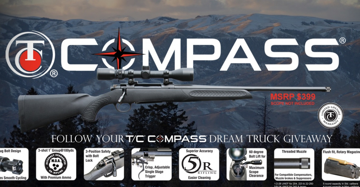 Thompson/Center Arms™ introduces T/C® Compass™ bolt-action rifle