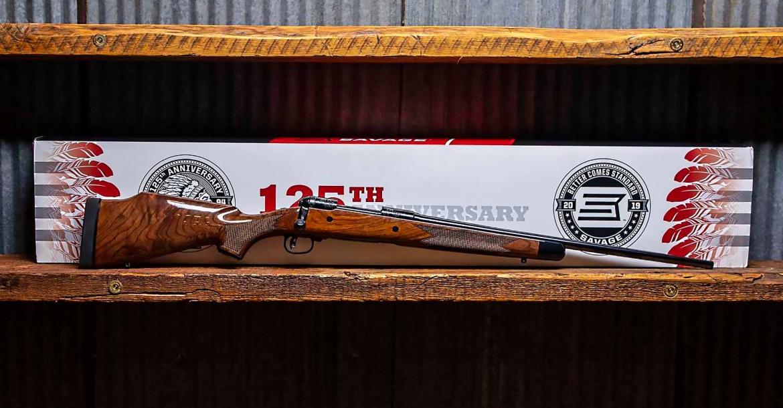 Fucile Savage Arms 110, edizione del 125mo anniversario
