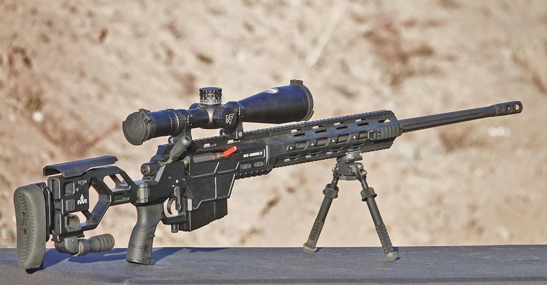 IWI DAN .338 Lapua Magnum sniper rifle