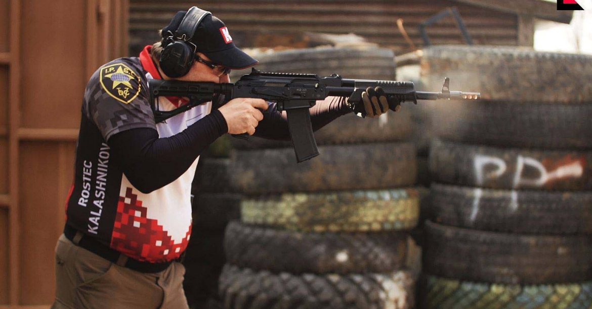 VIDEO: Kalashnikov KSZ-223 pump-action rifle