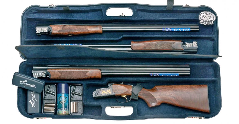F.A.I.R. shotguns: Iside Basic, Carrera One e SLX 600 Deluxe Black