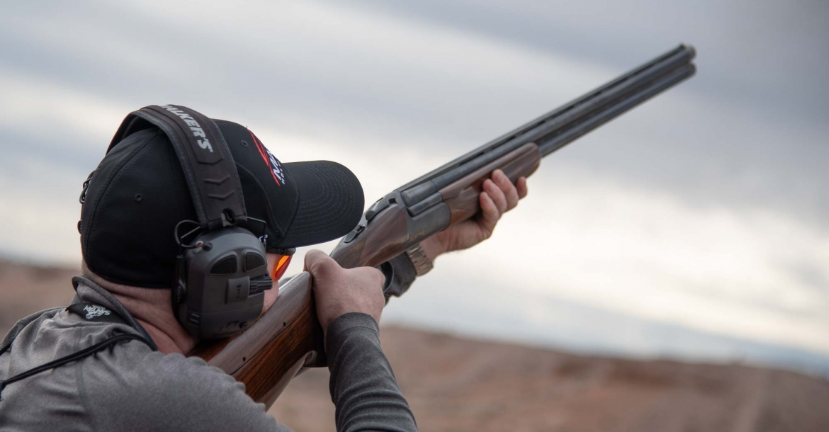 Fausti XF4 over-and-under competition shotgun