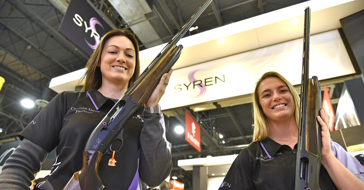 Syren L4S Sporting Shotgun, designed for Women