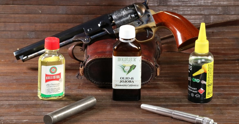 Jojoba oil for black powder guns
