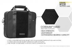 Le borse Nitecore sono realizzate in Cordura di grado militare 1050D