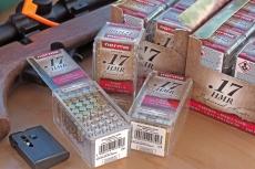 Norma V-MAX .17 HMR ammunition