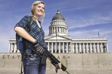 USA: the gun rights movement is non violent
