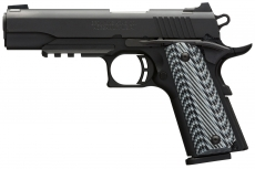 The Browning Arms Company introduces new versions of the BAR hunting rifle, the Citori 725 shotgun and the 1911-380 pistol