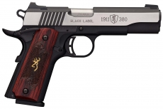 Browning adds five new pistols to the popular to the Black Label 1911-380 line