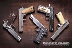 Cabot Guns pistols, now available in Europe