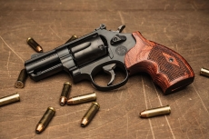 Smith & Wesson Model 19 Performance Center Carry Comp revolver, now with 2.5 inch barrel