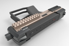 Tecnostudio Engineering's Bullpup Pistol TSE at IWA 2018