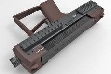 Tecnostudio Engineering's Bullpup Pistol TSE at IWA 2018
