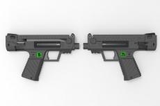 Progetti: pistole Bullpup SMG 15 e SMG 25