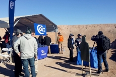 Colt at Range, Industry Day