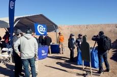 Lo stand Colt al poligono di tiro, Industry Day