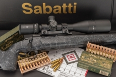 VIDEO: new Sabatti Tactical EVO rifle exclusive presentation